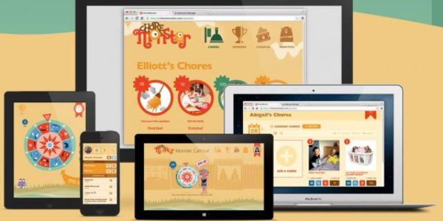 Nuevo choremonster, juego para las familias con hijos, para iOS y Windows 8